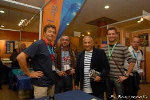 Patrick Louisy, Osman Ersen, Albert Falco et moi