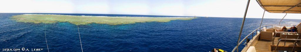 Le récif d'Abu Kefan