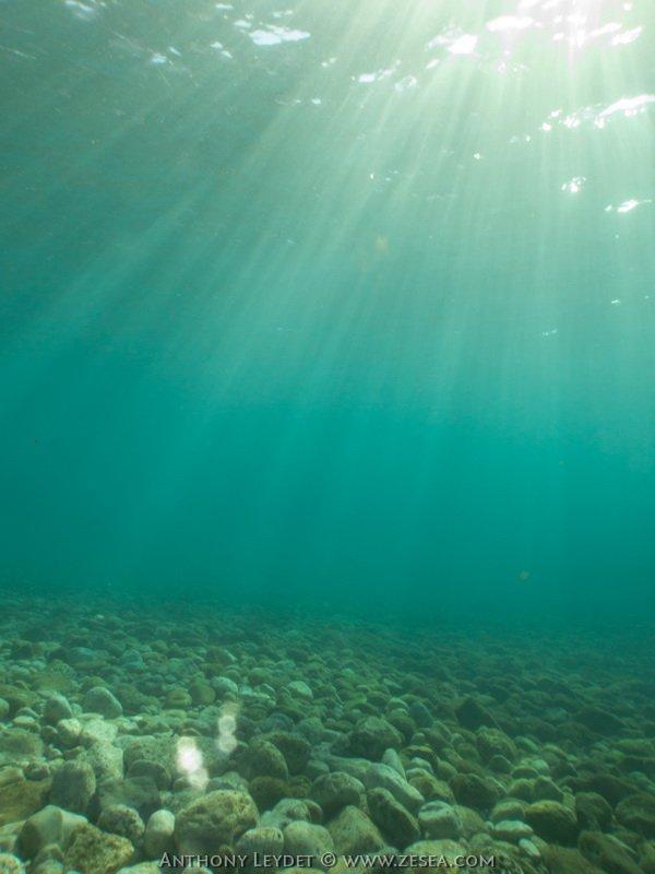Et une eau claire en plus !