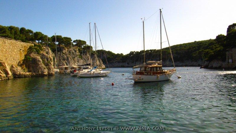 Les voiliers de Port-Miou