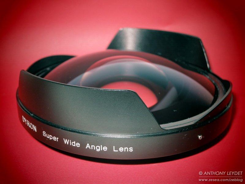 Lentille Dyron Super grand-angle SWAL13