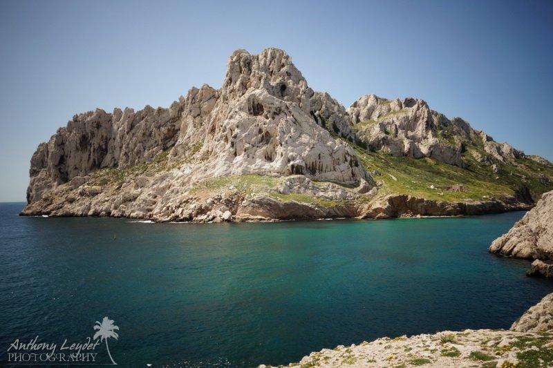 L'île de Maïre à Marseille