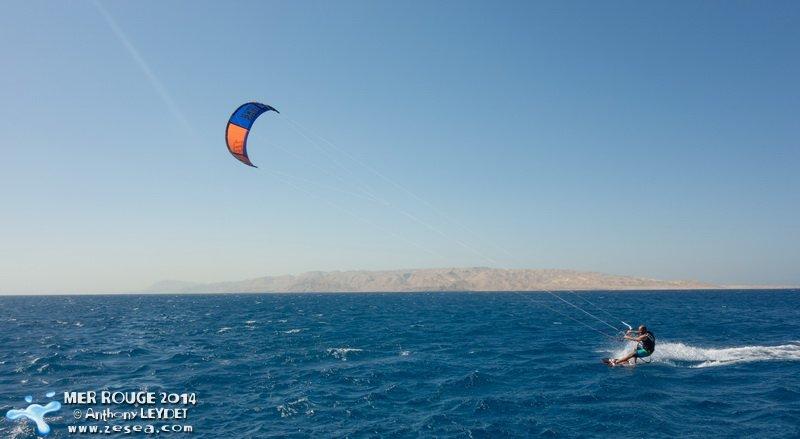 Kite-surf en Mer Rouge