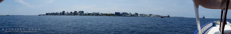 Plonger aux Maldives... Passage à Malé, la capitale