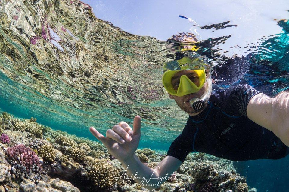 Snorkeling en Mer Rouge
