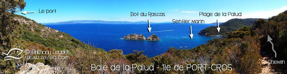 Baie de la Palud à Port-Cros