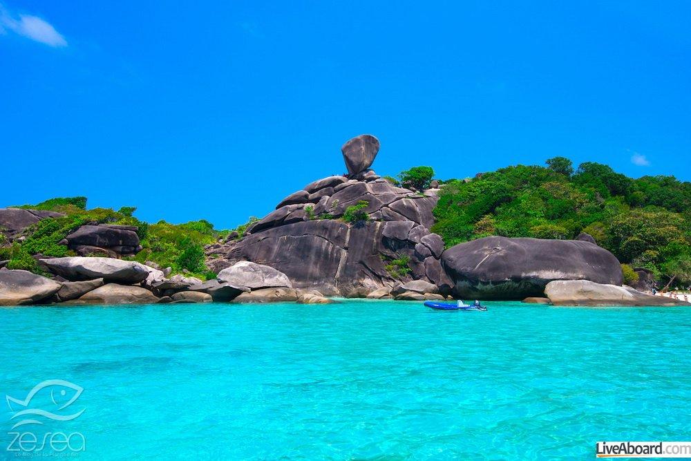Plonger dans les îles Similan