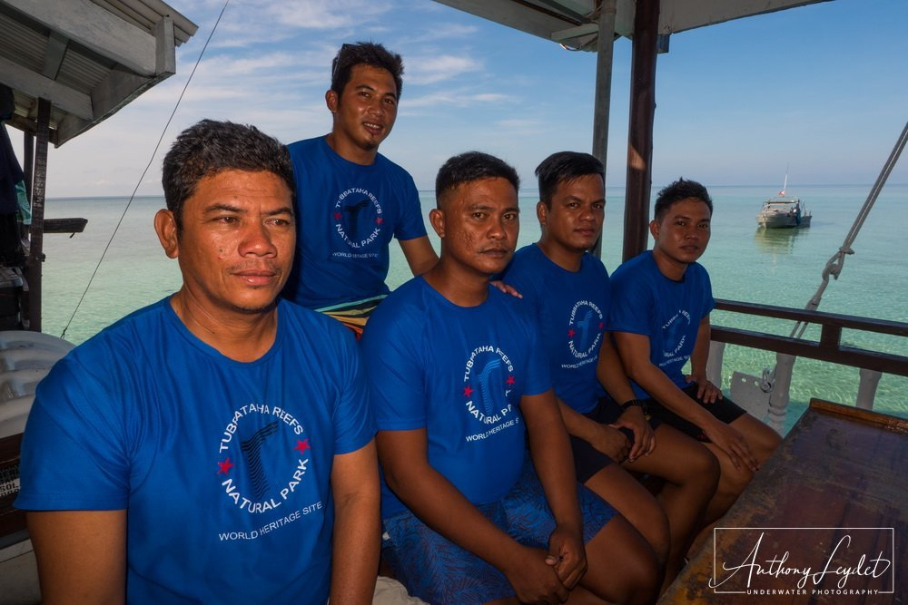 The Rangers watch over the reefs of Tubbataha